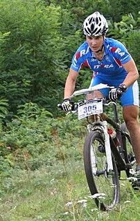 Ksenia Chernykh Russian mountain bike orienteer