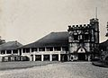 Kuching, Sarawak; the Astana, a partly castellated building. Wellcome V0037394.jpg