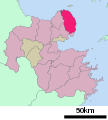Kunisaki in Oita Prefecture Ja.svg
