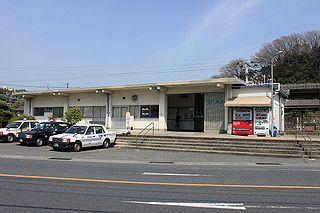 Kushigahama Station Railway station in Shūnan, Yamaguchi Prefecture, Japan