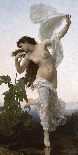 L'Aurore (Bouguereau) - Image: L'Aurore by William Adolphe Bouguereau BMA