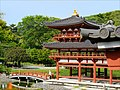 L'entrée du temple Byodo-in (Uji, Japon) (29013284538).jpg