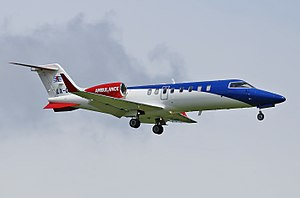 LAR - Luxembourg Air Rescue Gates Learjet 35-36 (C-21) LX-ONE (28807211032).jpg