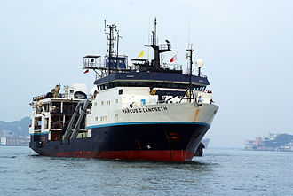 Lamont–Doherty Earth Observatory - R/V Marcus G. Langseth, operated by the Lamont–Doherty Earth Observatory