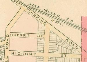 Creedmoor Psychiatric Center - Creedmoor station in 1891