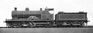 LNWR Precursor class locomotive 513 Precursor (Howden, Boys' Book of Locomotives, 1907).jpg