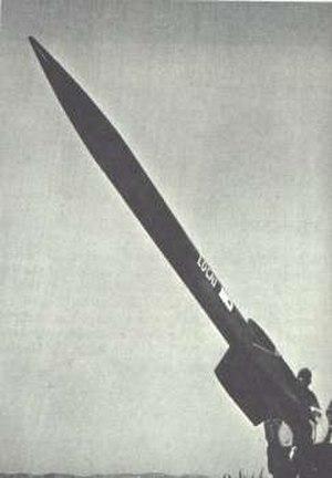 LOCAT - Image: LOCAT rocket