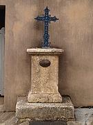 La croix de mission en 2013.