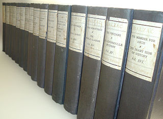 multi-volume collection of novels and stories