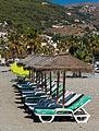 La Herradura, beach furniture, Andalusia, Spain.jpg