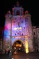 La Tour de la Grosse Horloge illuminée, Noël 2009 (16).JPG