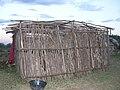 La struttura della capanna Masai (Kenya 2005).jpg
