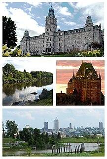La Cité-Limoilou Borough of Quebec City in Canada