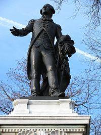 Major General Marquis Gilbert de Lafayette