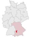 Lage des Landkreises Augsburg in Deutschland.png