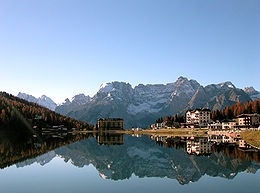 Image illustrative de l'article Lac de Misurina