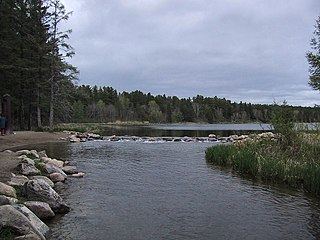 Lake Itasca lake in Clearwater County, northern Minnesota, United States