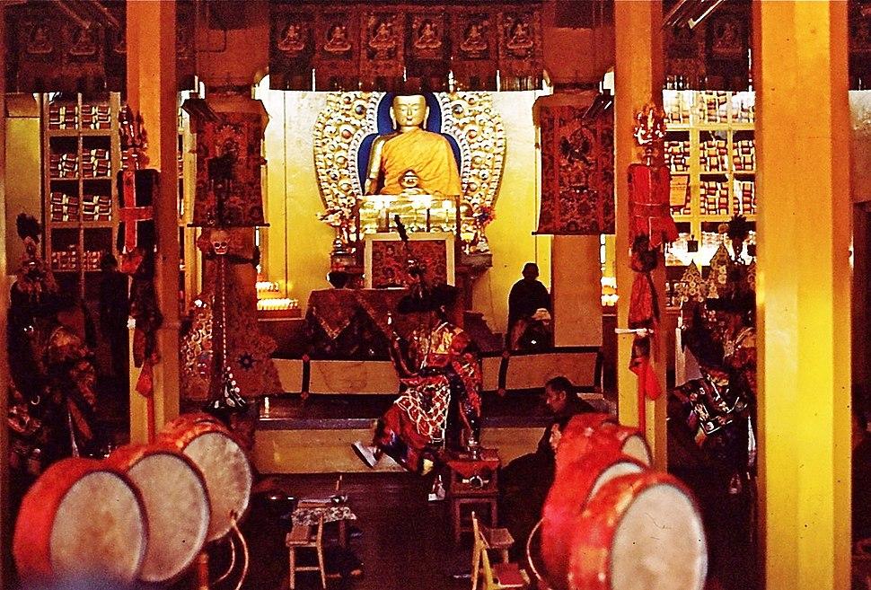 Lama Dance, Dharamsala, India