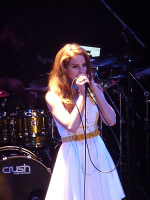 Lana Del Rey - Del Rey performing at the Bowery Ballroom in December 2011.