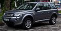 Land Rover Freelander SD4 SE (II, 2. Facelift) – Frontansicht, 29. Mai 2014, Düsseldorf.jpg