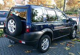 Land Rover Freelander rear 20071031.jpg