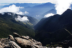 Yushan National Park - Image: Laonung River