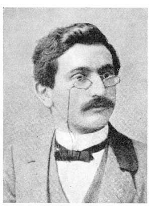Emanuel Lasker - Lasker as a young man