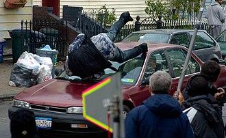 Law & Order: Criminal Intent - An episode being filmed in November 2007