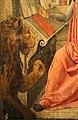 Lazzaro bastiani, san girolamo nello studio col committente saladino ferro, medico, 1475-80 ca. (monopoli, museo diocesano) 04 leone.jpg