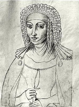 Margaret I, Countess of Burgundy - Image: Le Boucq Marguerite de France (1310 1382)