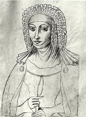 Margaret I, Countess of Burgundy - Image: Le Boucq Marguerite de France (1310 1382)