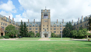 Saint Mary's College (Indiana) - Le Mans Hall residence hall.