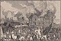 Le Monde illustré - 10 avril 1886 - p232 - Jumet - L'incendie et le pillage de la verrerie et du château de M. Baudoux.jpg