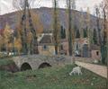 Le Pont de Labastide-du-Vert ou La Chèvre blanche Henri Martin musée de Cahors Henri-Martin Ni.92.tif