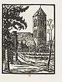 Le clocher d'Ambonnay durant la guerre de 1914-1918, par Gaspard Maillol.jpg