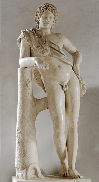 Praxiteles - The Resting Satyr