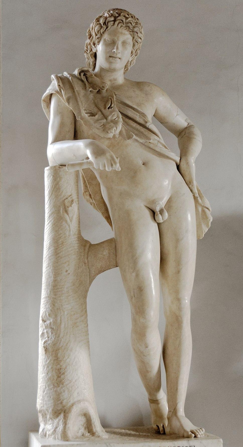 Leaning satyr Musei Capitolini MC739
