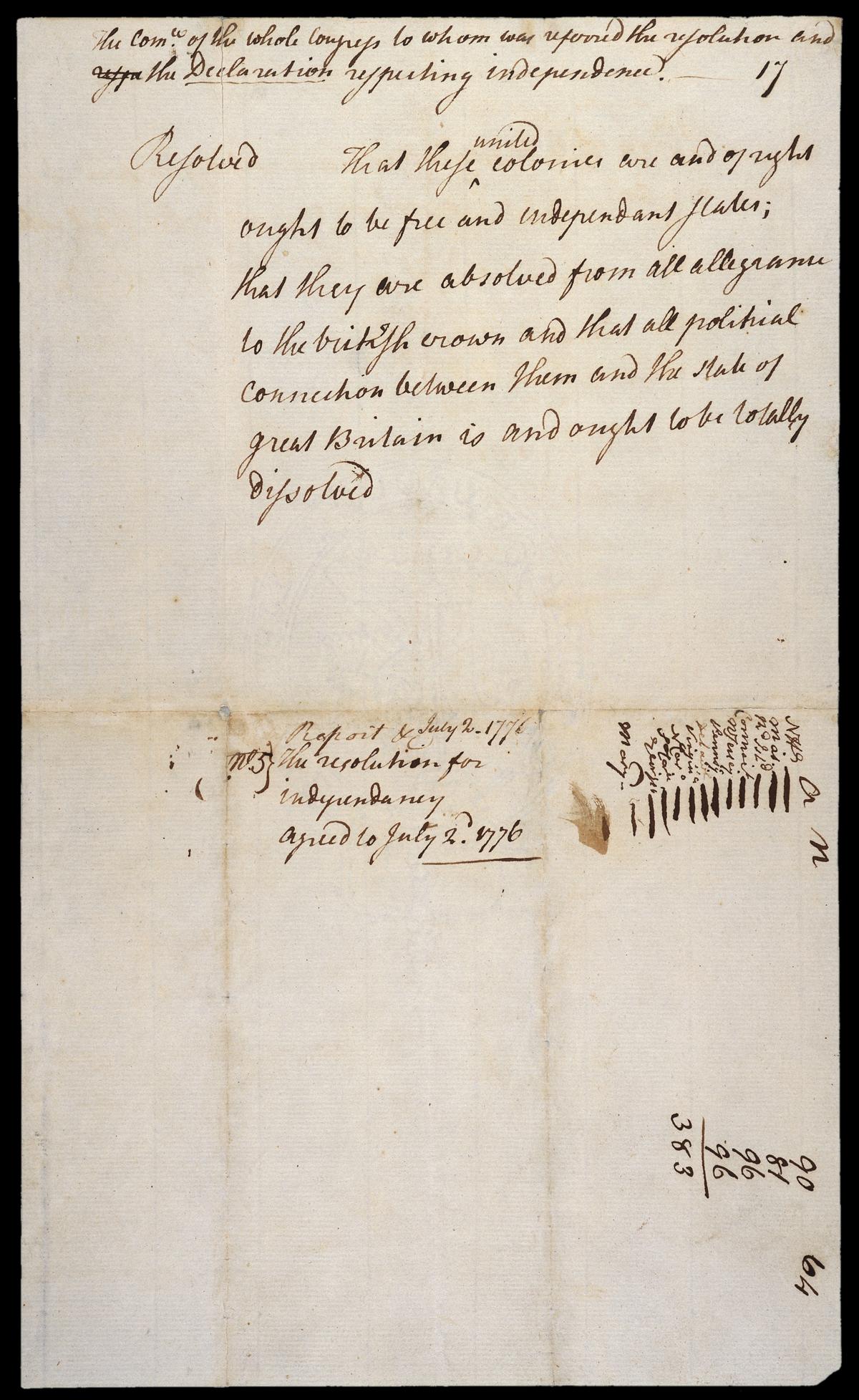 Hamilton S Letters To John Laurens