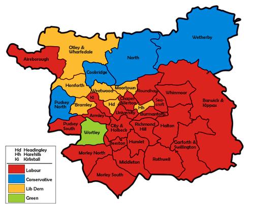 Leeds City Council election 1999 Wikipedia