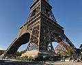 Legs of the Eiffel Tower, 11 October 2010.jpg