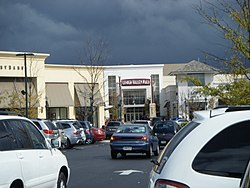 Lehigh Valley Mall lifestyle center entrance.jpg