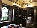 Leighton Library, internal shot window and bookcase.jpg