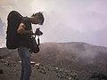 Lelaki di Puncak Surono, Gunung Slamet, Jawa Tengah.jpg