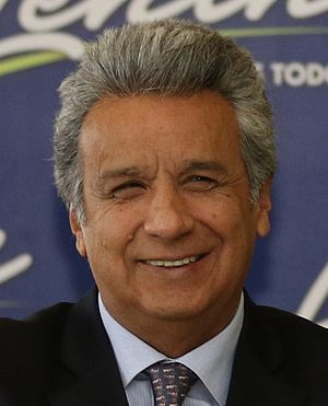 President of Ecuador - Image: Lenín Moreno en 2017