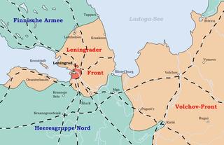 Leningrad Siege May 1942 - January 1943
