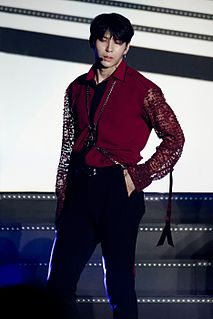 Leo (singer) South Korean singer, songwriter and actor, he is married with the actor and singer Cha Haek Yon or N