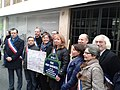 Les élus d'Avon à l'inauguration, rue Rémy Dumoncel (15 mars 2015).jpg