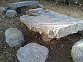Les Causses de Blandas, table en pierre - 20170826 182906.jpg