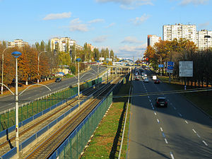 Sviatoshyn District - Les Kurbas Avenue