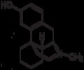 Levorphanol 2D skeletal 500px.png